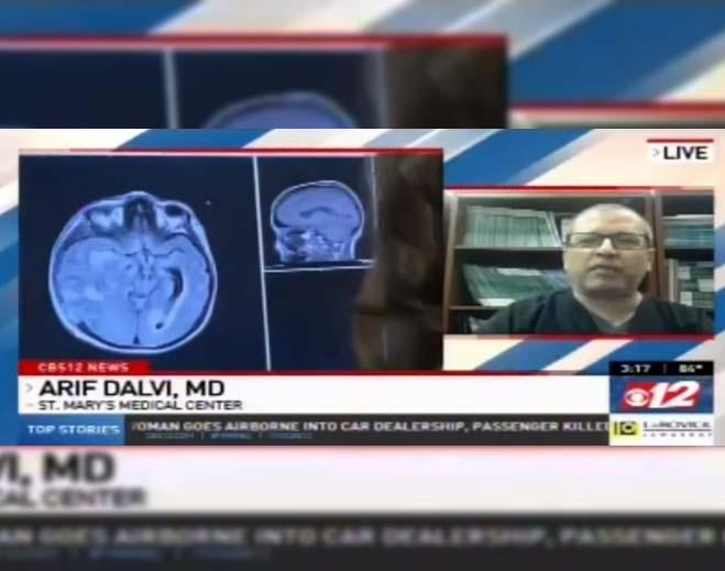dr-arif-dalvi-is-interviewed-for-parkinsons-awareness-month-on-cbs-12-news